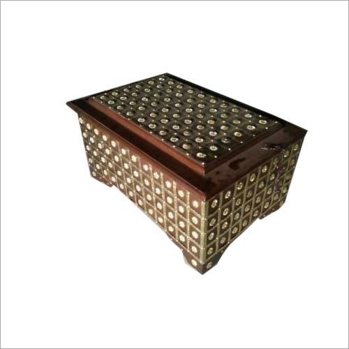 20 Inch Teak Wooden Antique Sandook