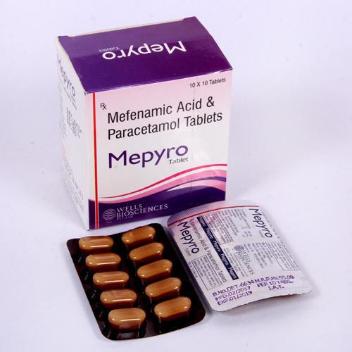 Mefenamic Acid with Paracetamol Tablets