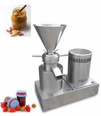 YGF-120 Industrial Price Tahini Peanut Butter Fruit Jam Grinding Machinery Tomato Paste Colloid Sesame Milling Making Machine For Sale