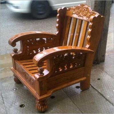 Assam Teak Wooden Sofa Set