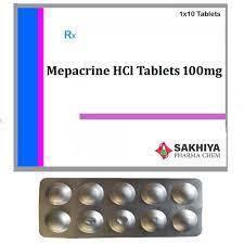 Mepacrine Hydrochloride Tablet