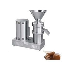 YGF-140 Industrial Price Tahini Peanut Butter Fruit Jam Grinding Machinery Tomato Paste Colloid Sesame Milling Making machine