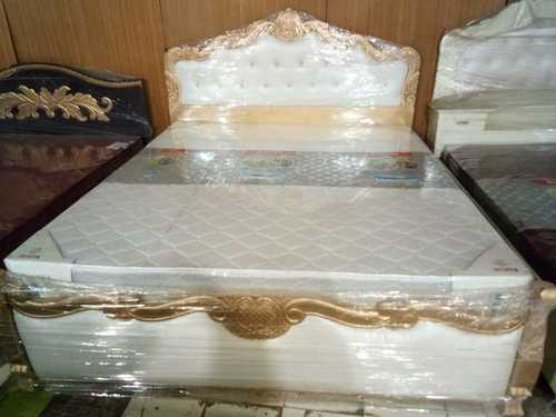 King Size Wooden Cot Bed (Solid Wood)