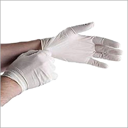 White Latex Surgical Gloves