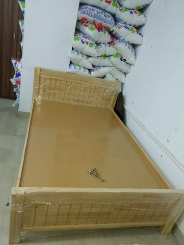 Wooden Single Cot Bed (Solid Wood)
