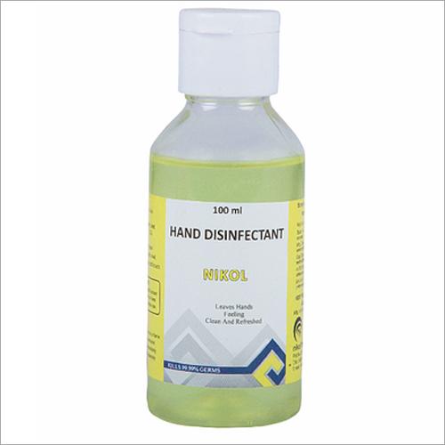 100ml Nikol Hand Disinfectant Chemical