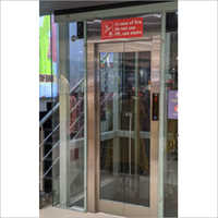 Clear Vision Frame Less Glass Door