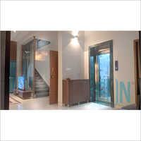 Machine Room Less (MRL) Home Lift Cabin