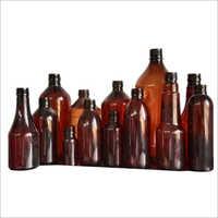 Amber Colour Pharmaceutical PET Bottle