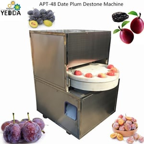 Appt-48 Wholesale Automatic Apple Corer Peach Corer Extracting Red Jujube Cherry Core Fruits Cutting Pitting Machine