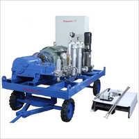 High Pressure Sewer Jetting Pump Machine