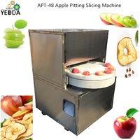 APPT-48C Wholesale Pear Apple Stoner Coring Slicing Machine Peach Corer Removing Ring Slicing Machine