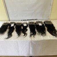 4*4 Hd Lace Closure, 100% Cuticle Aligned Indian Natural Human Raw Hair
