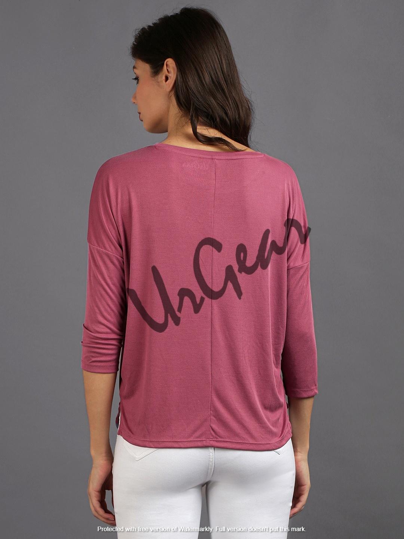 Women Pink Solid Top