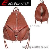 Fashion trend PU backpacks school backpack lady bag