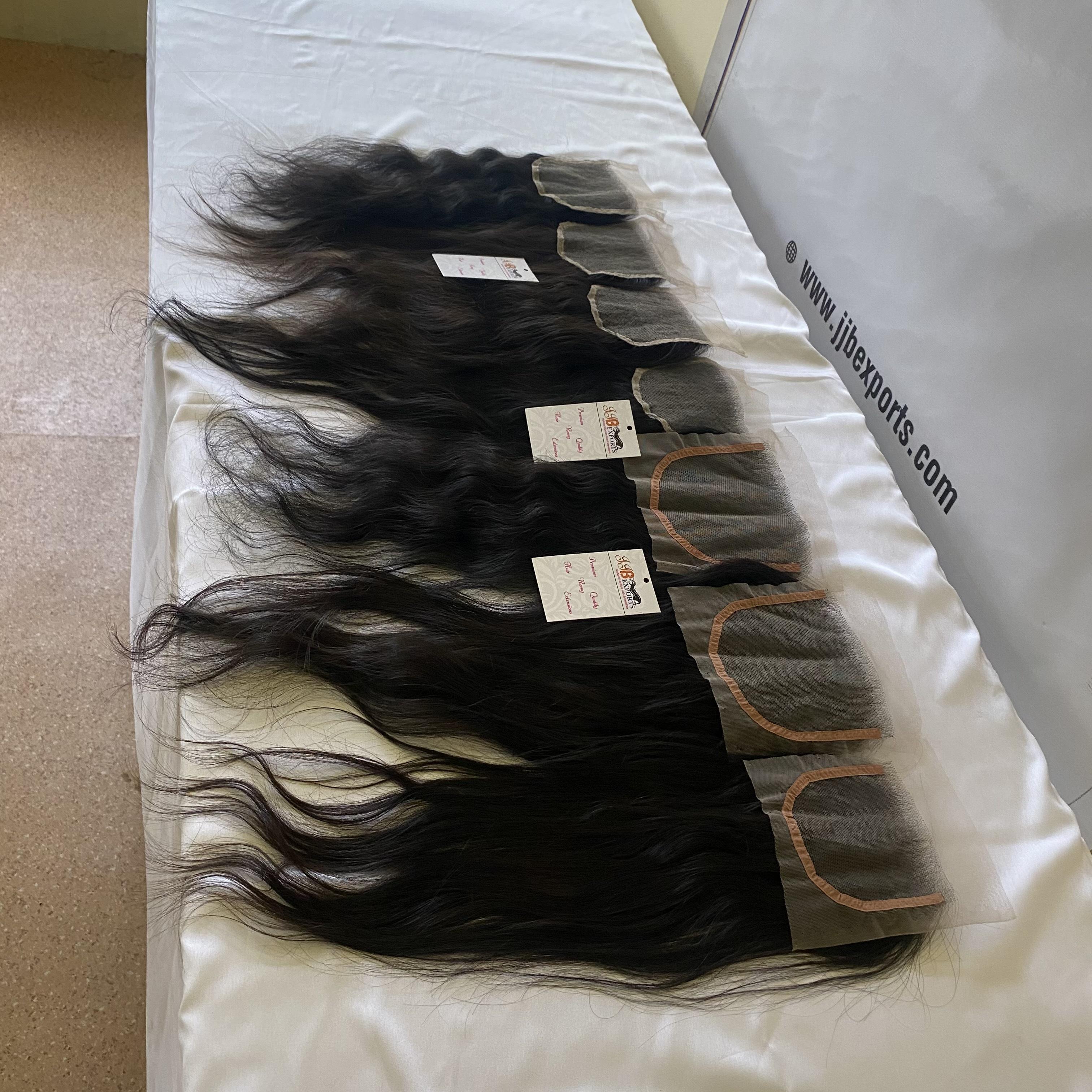 Hd Lace Closure 4x4 5x5 Human Hair Closure Brazilian Raw Virgin Hair