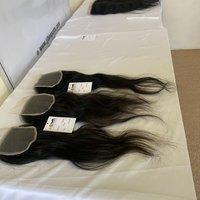 Natural Raw Unprocessed Single Drawn Virgin Lace Frontal Closure 4x4 5x5 13x4 13x6 Human Hair