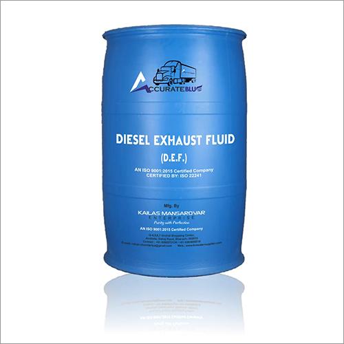 Diesel Exhaust Fluid Barrel
