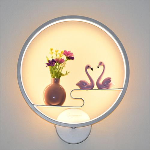 Ducks With Flowerpot Design Lamp