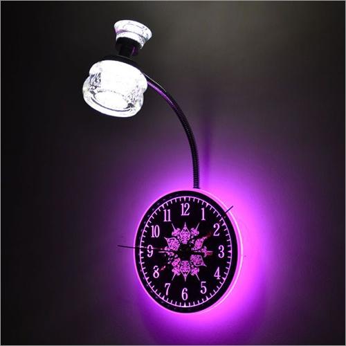 Bedside Clock Lamp