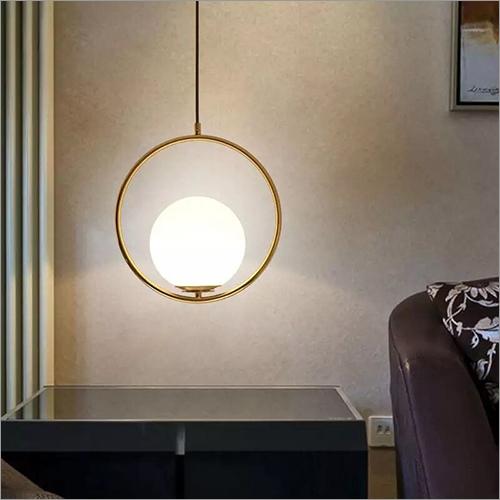 Round Shape Glass Ball Lamp