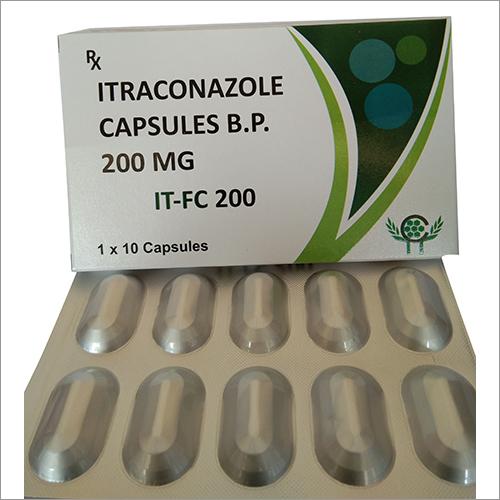 200 mg Itraconazole Capsules BP