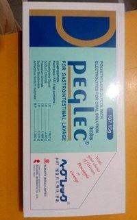 Peglec Sachet ( potassium chloride, sodium bicarbonate, polyethylene and sodium sulphate)glycol, sodium chloride,