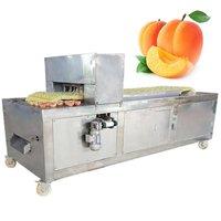 YL-5 Wholesale Apricot Peach Pitting and Cutting Machine Apricot Pitter Machine Apricot Stoner Cutter Machine