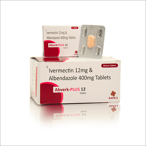 12 MG Ivermectin And 400 MG Albendazole Tablets