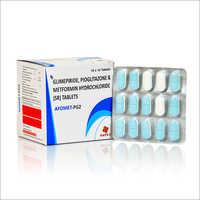 Glimepiride Pioglitazone And Metformin Hydrochloride (SR) Tablets