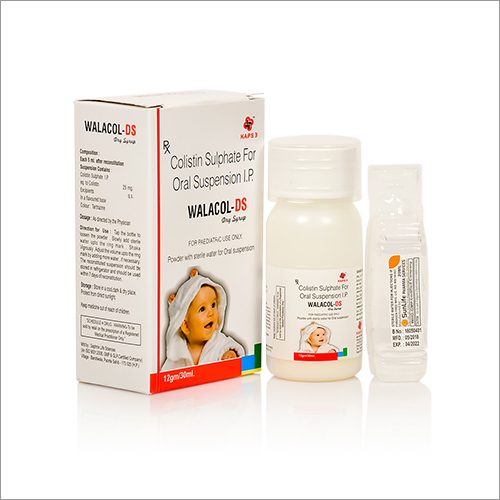 Colistin Sulphate For Oral Suspension IP