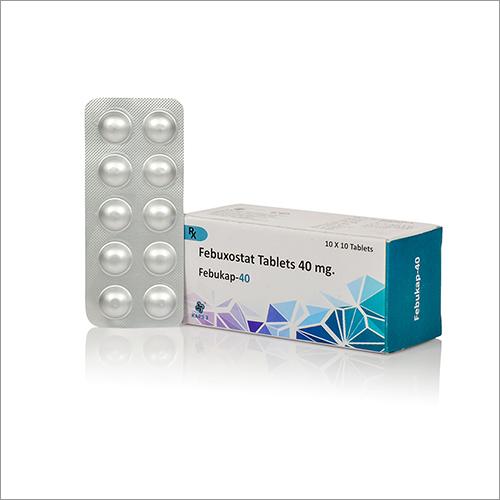 40 MG Febuxostat Tablets