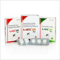 Artesunate 200 MG Pyrimethamine 37.5 MG And Sulfadoxine 750 MG Tablets IP