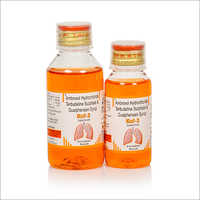 Ambroxol Hydrochloride, Terbutaline Sulphate And Guaiphenesin Syrup