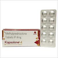 4 MG Methylprednisolone Tablets IP
