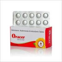 Multivitamin, Multiminerals And Antioxidants Tablets