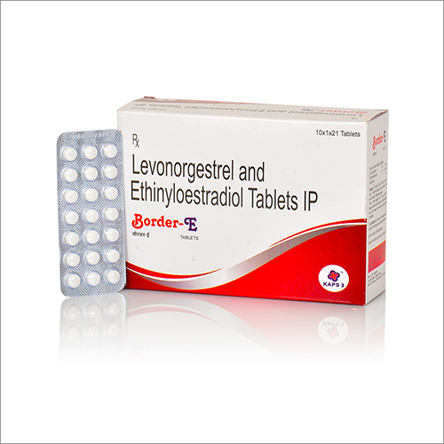 Levonorgestrel And Ethinyloestradiol Tablets IP