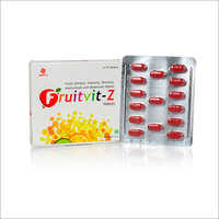 Fruits Extracts, Vitamins, Minerals, Amino Acids With Botanicals Tablets