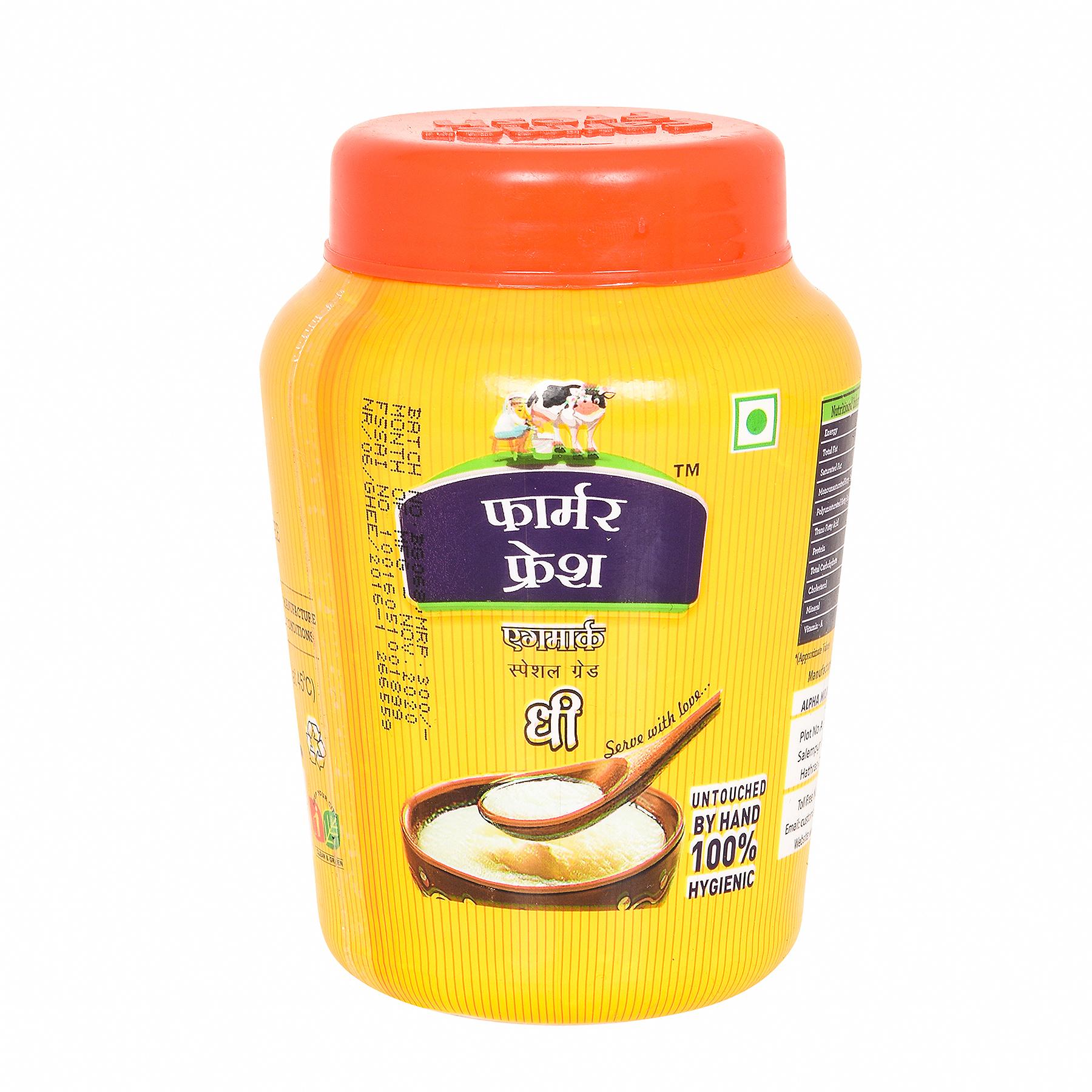 Farmer Fresh Ghee Desi- Poly Jar 500ml