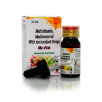 Multivitamin Multimineral With Antioxidant Drops