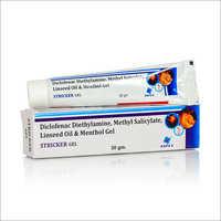 Diclofenac Diethylamine, Methyl Salicylate, Linseed Oil And Menthol Gel