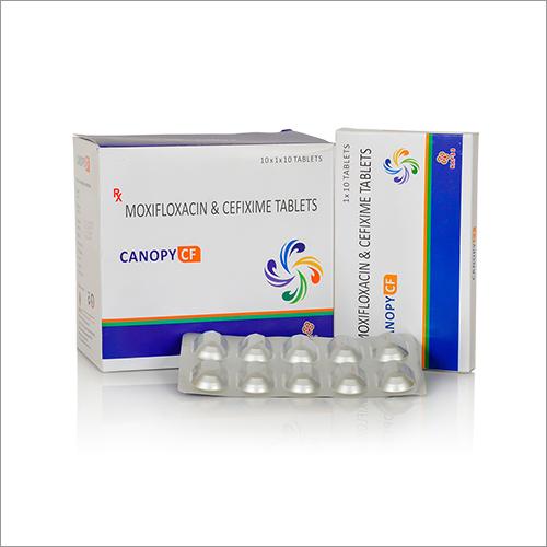 Moxifloxacin And Cefixime Tablets
