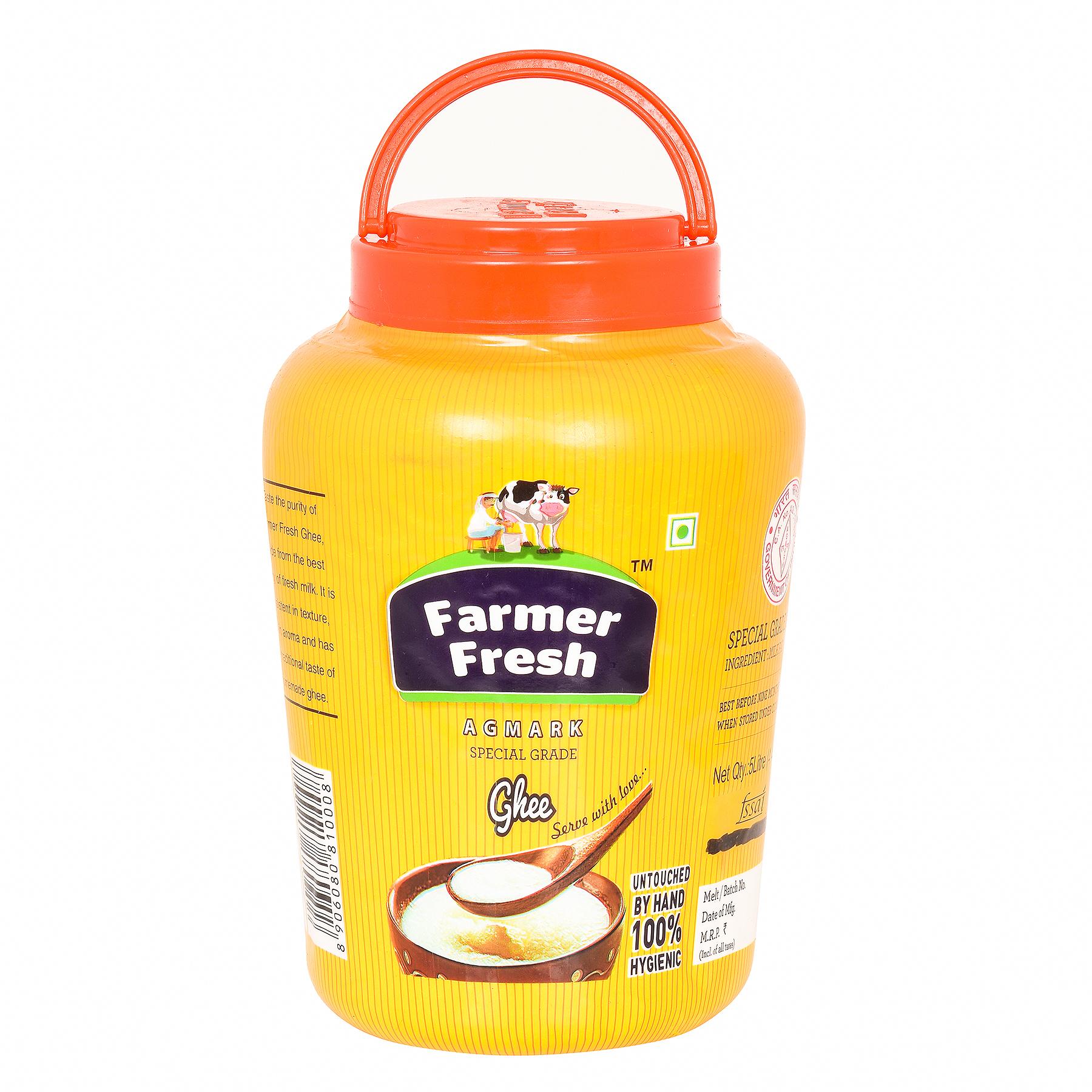 Farmer Fresh Ghee Desi- Poly Jar 5 Litre