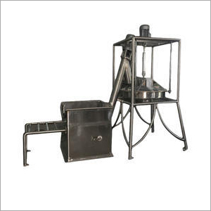 Stainless Steel Flour Sifter With Single Screw Elevator
