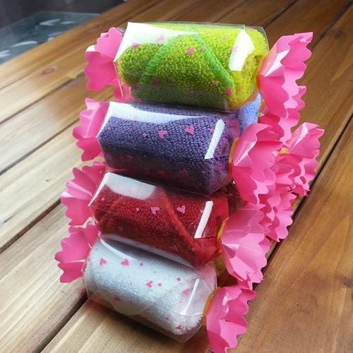Candy Shaped Napkin (Random Colour)