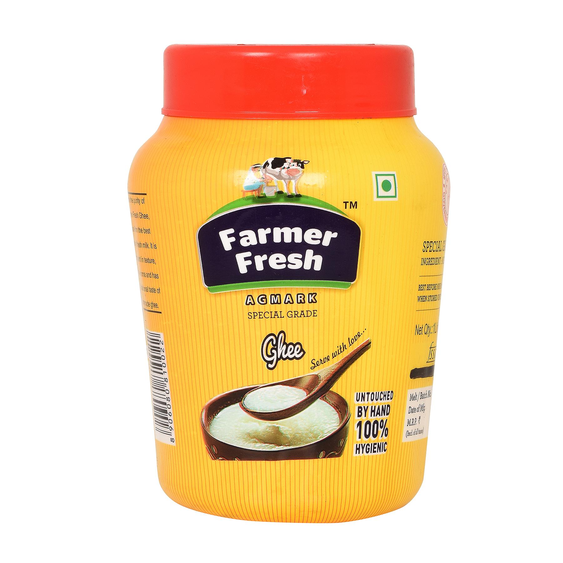 Farmer Fresh Ghee Desi- Poly Jar 1 Litre