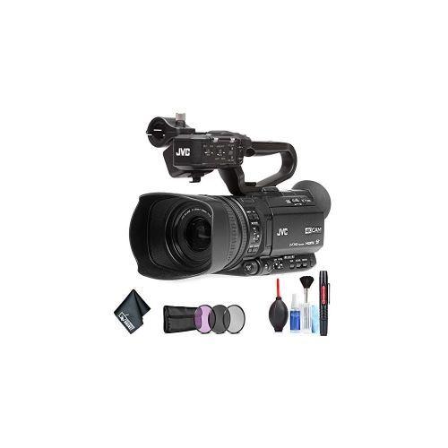 JVC GY-HM180 Ultra HD 4K Camcorder Base Bundle