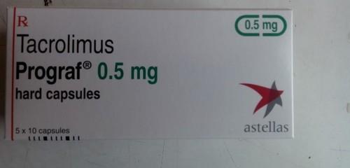PROGRAF 0.5MG(TACROLIMUS) CAPSULE