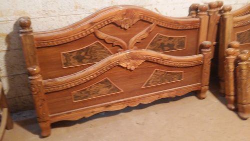 Queen/King Assam Teak Wooden Cot