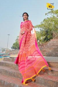 Weightless Saree With Print